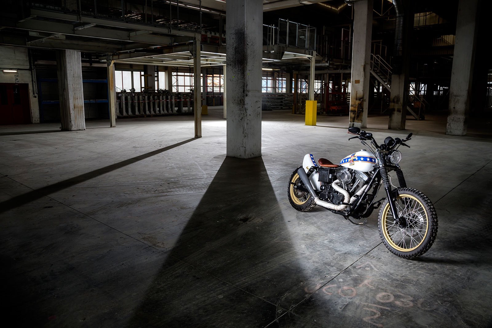 """Evel Knievel S Harley Davidson Xl1000 Up For Auction: Harley Davidson """"Evel Knievel"""""""
