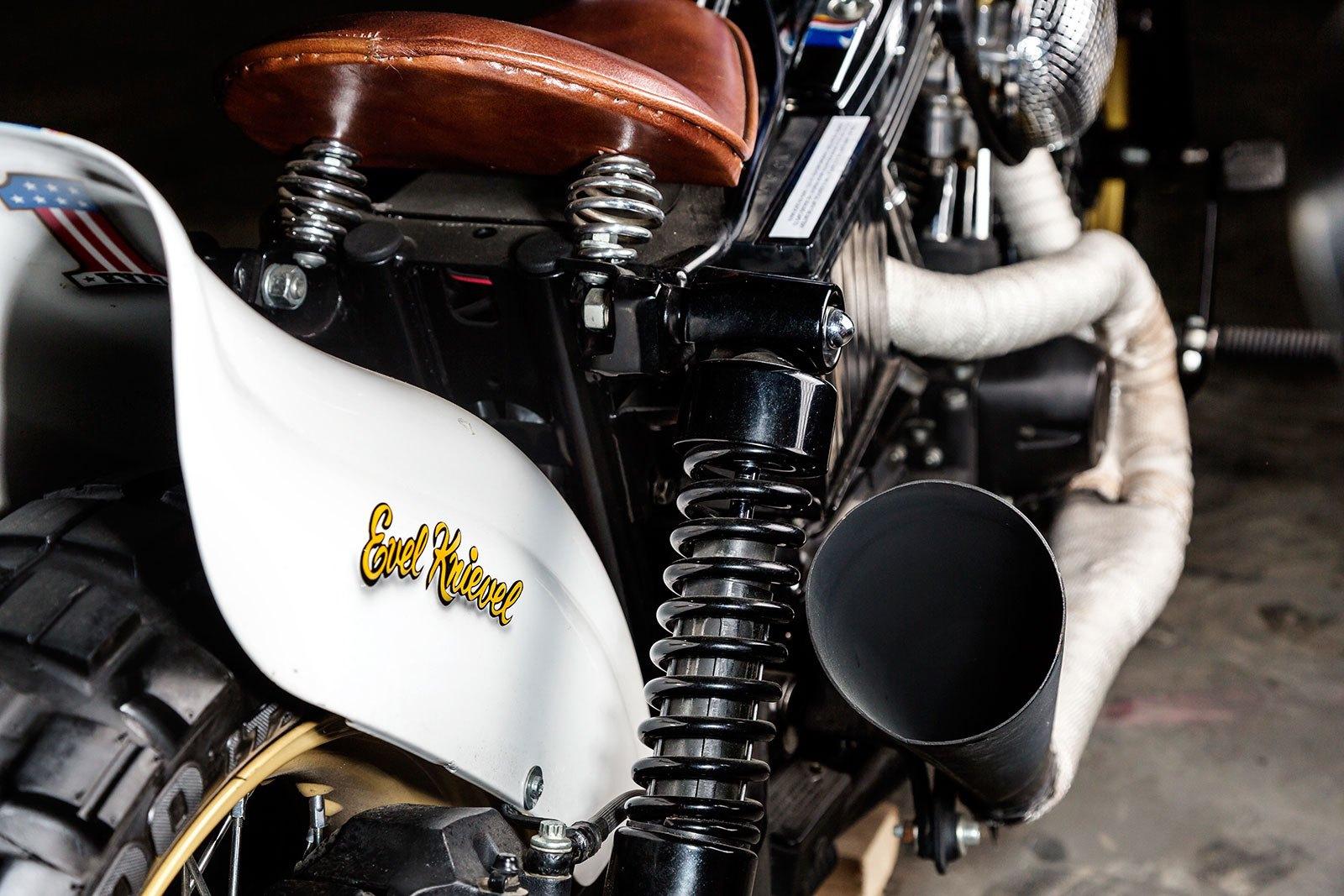 "Harley Davidson ""Evel Knievel"" - TITAN"