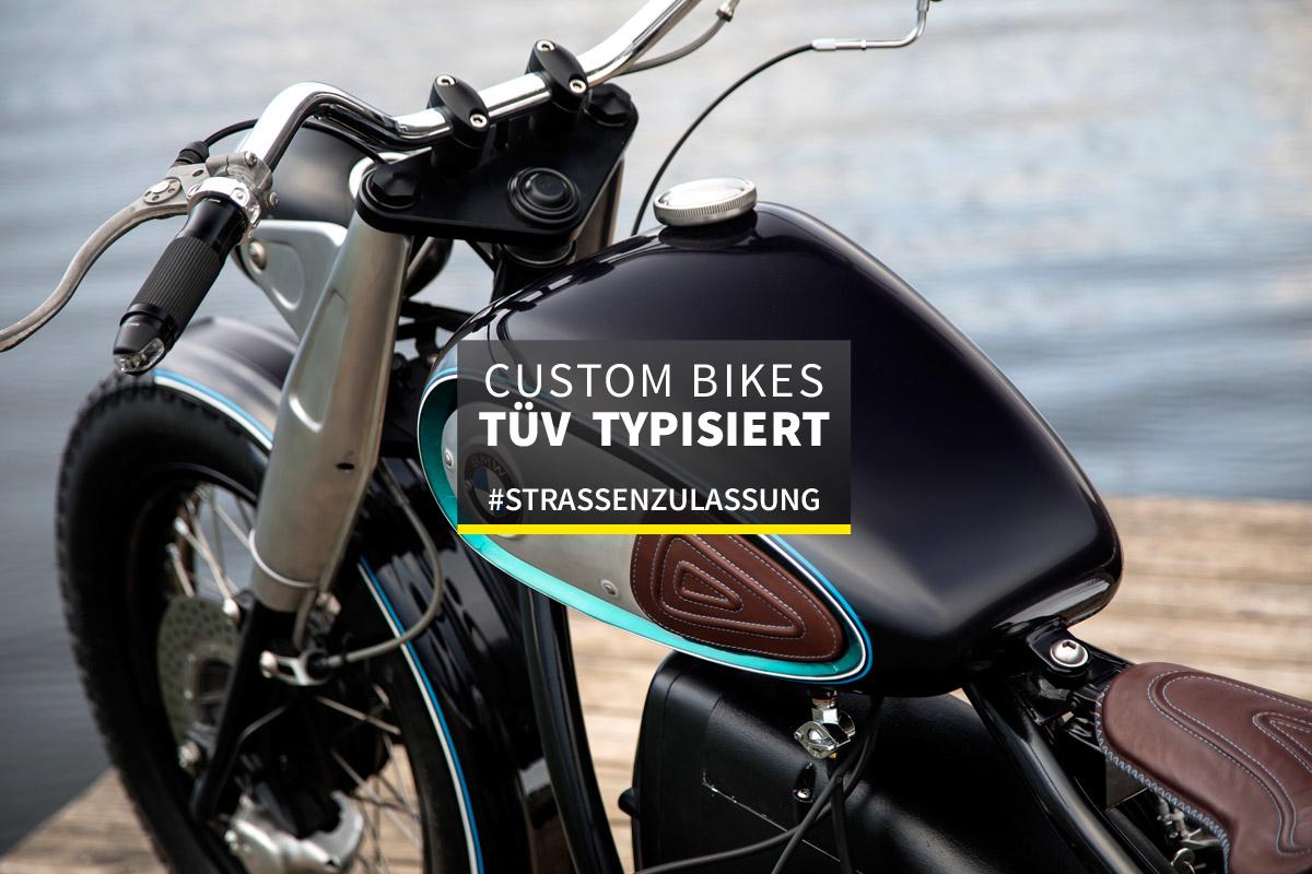 Motorrad Umbau Graz Tüv Typisiert Straßenzulassung Heck Umbau Bmw