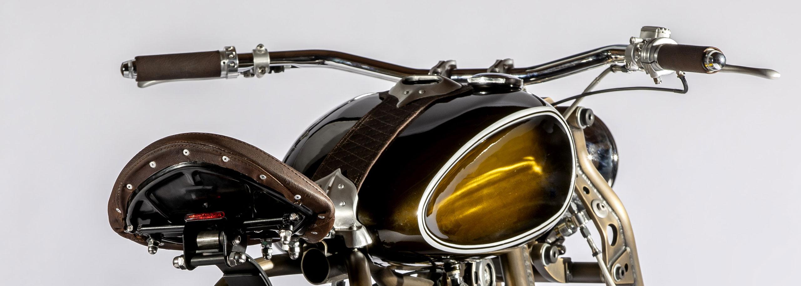 TITAN Arkitekt Cafe Racer Graz BMW Motorrad Design Monaco Yacht Show Car Deck Racing Motorcycle Monte Carlo