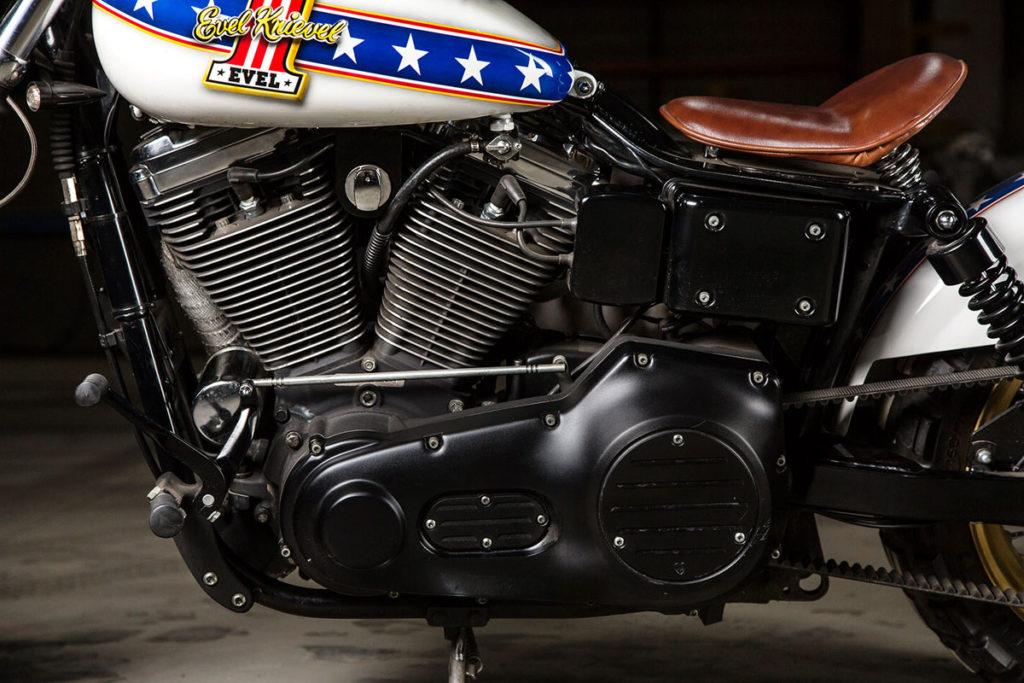 Evel Knievel Harley Davidson Xl1000: Harley Umbau HARLEY-DAVIDSON DYNA