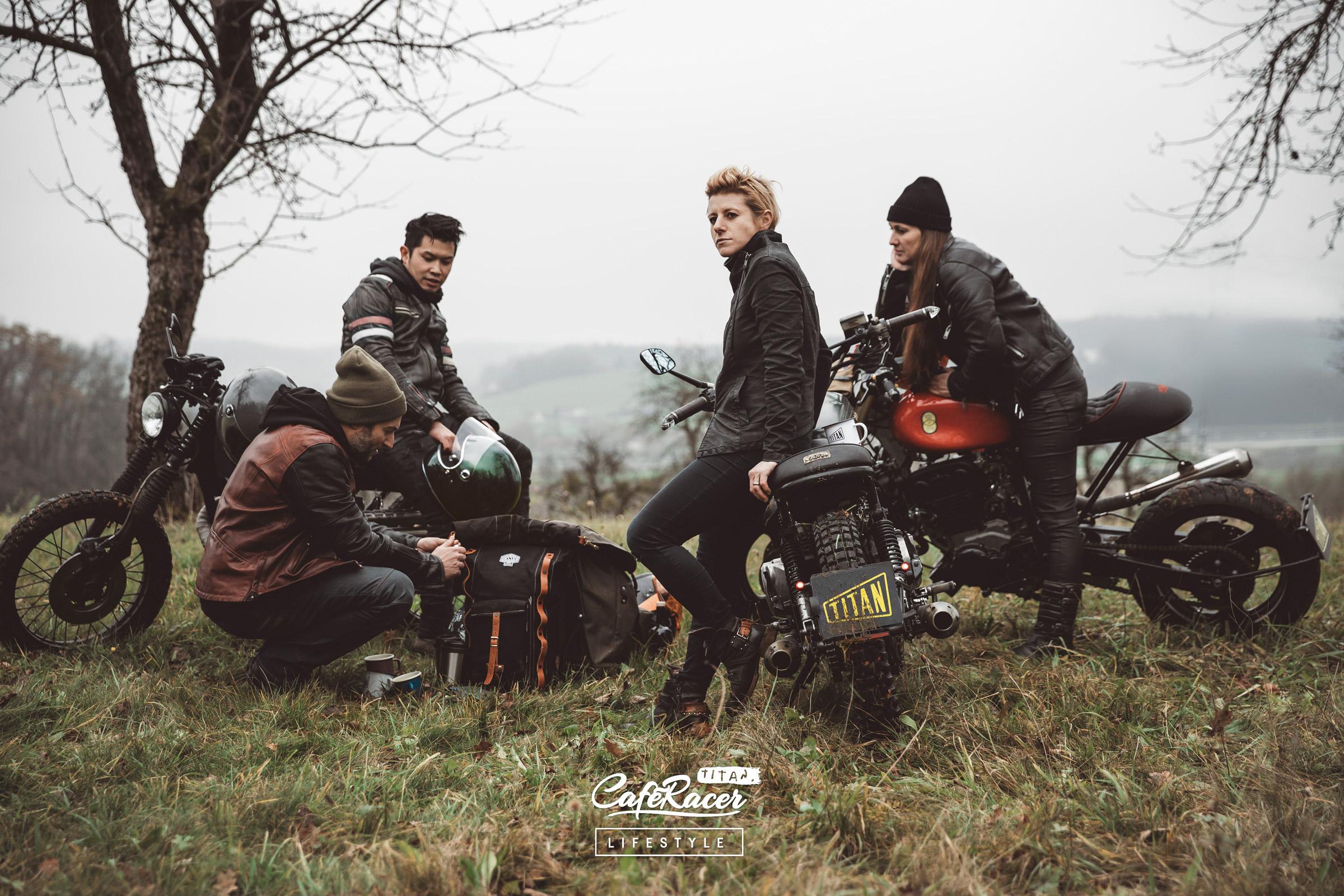 TITAN-Motorcycles-Company-Team-CafeRacer-Lifestyle-Graz-Styria-Austria-MotorradUmbau-MotorradBekleidung-Biltwell-Bores-Ladies-Frauen-Mode Alternative Louis Damenmode Bikergirl Ladies Gear
