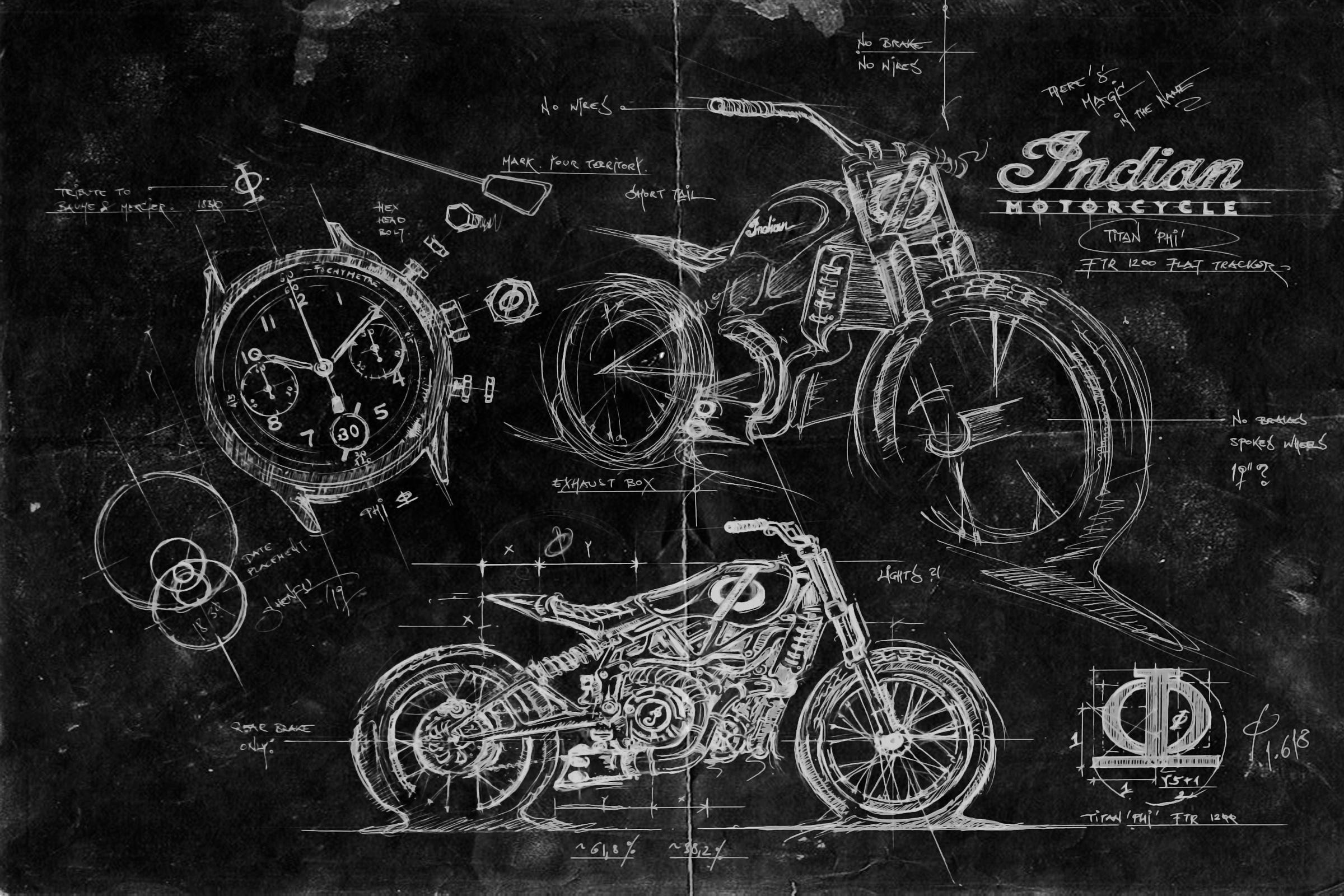 TITAN-Phi-A-Tribute-to-Craftmanship-Custom-Art-and-Design-SHENFU-Graz-Illustration-Cafe-Racer-Concept