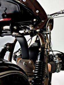 TITAN-TheArkitekt Custom Bike BMW-CafeRacer BMW R75-6 Motorrad Umbau Motorcycle Monaco Car Deck Monte Carlo Racing
