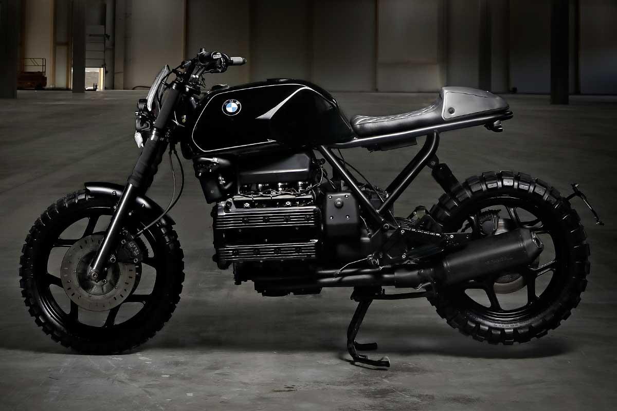 Titan Xaver Bmw K100 Umbau 1986 Handcrafted Aluminium Custom