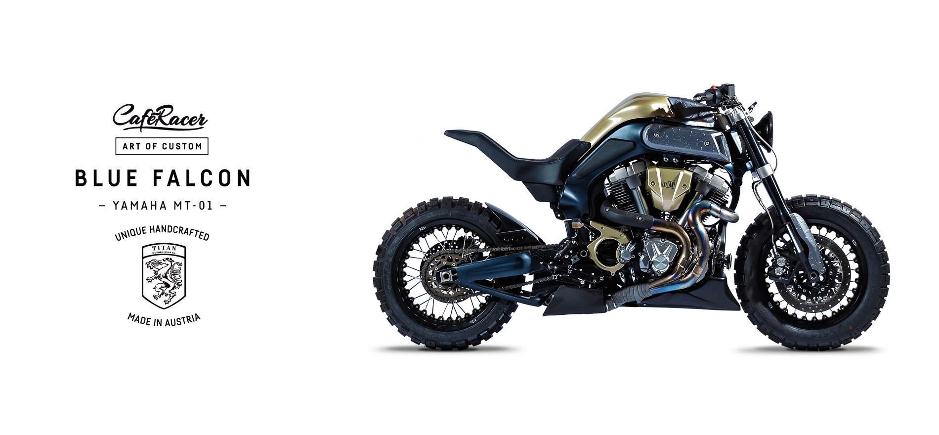 TITAN_CustomBike_CafeRacer_Graz_MadeInAustria_Before-After_Blue-Falcon_Yamaha-MT-01_Motorradumbau_Full