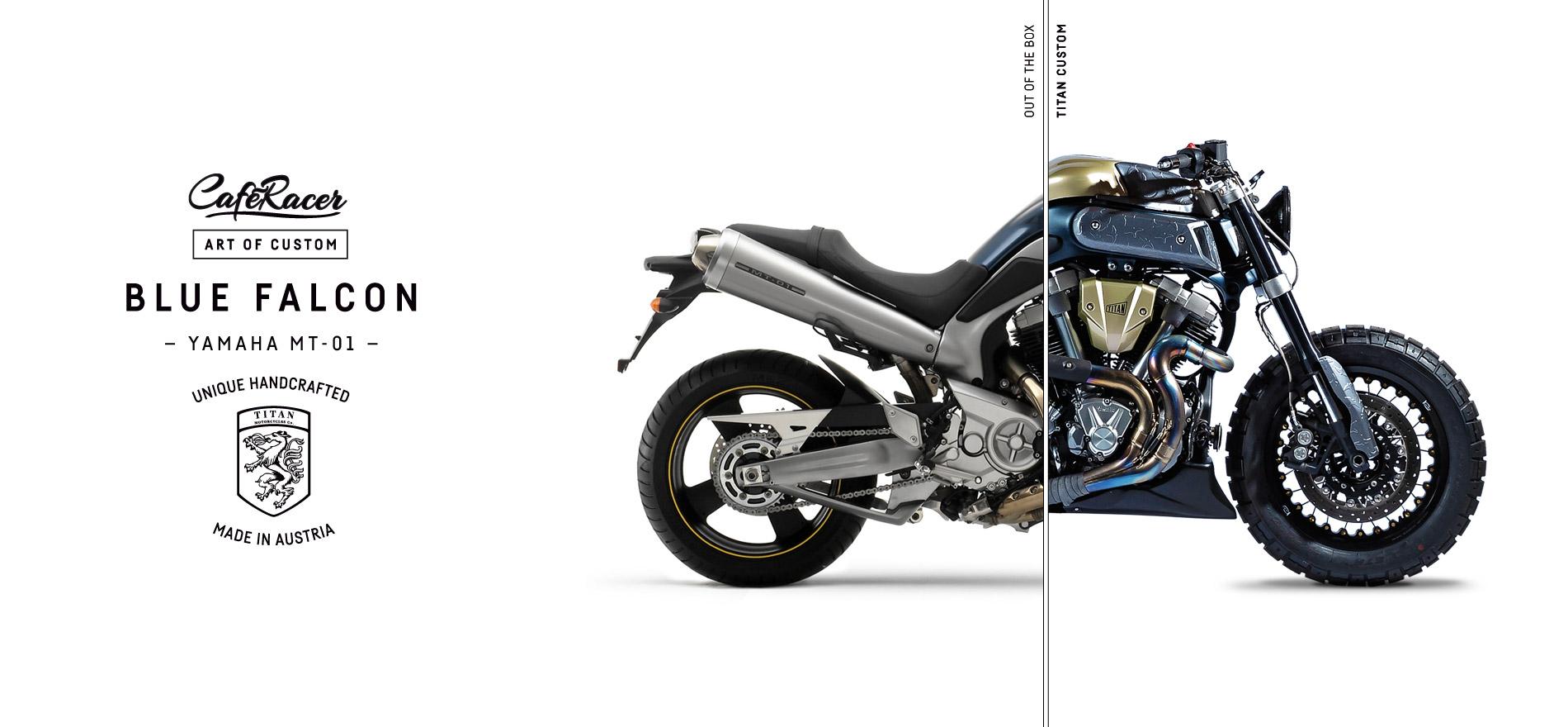 TITAN_CustomBike_CafeRacer_Graz_MadeInAustria_Before-After_Blue-Falcon_Yamaha-MT-01_Motorradumbau_Right