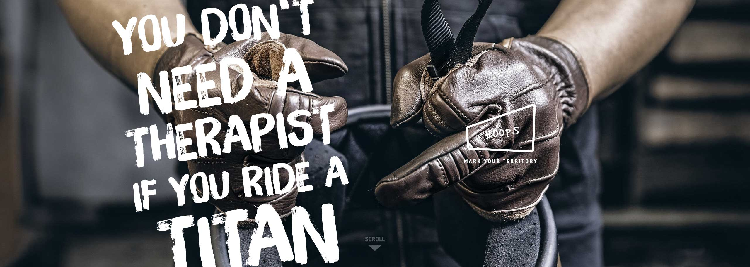 Titan-Motorcycles-YouDontNeedATherapistIfYouRideAMotorcycle-Quote-Motorcycle-TITAN-is-Good-for-You#Oops_Cafe-Racer-Graz-BMW-Umbau-Motorrad