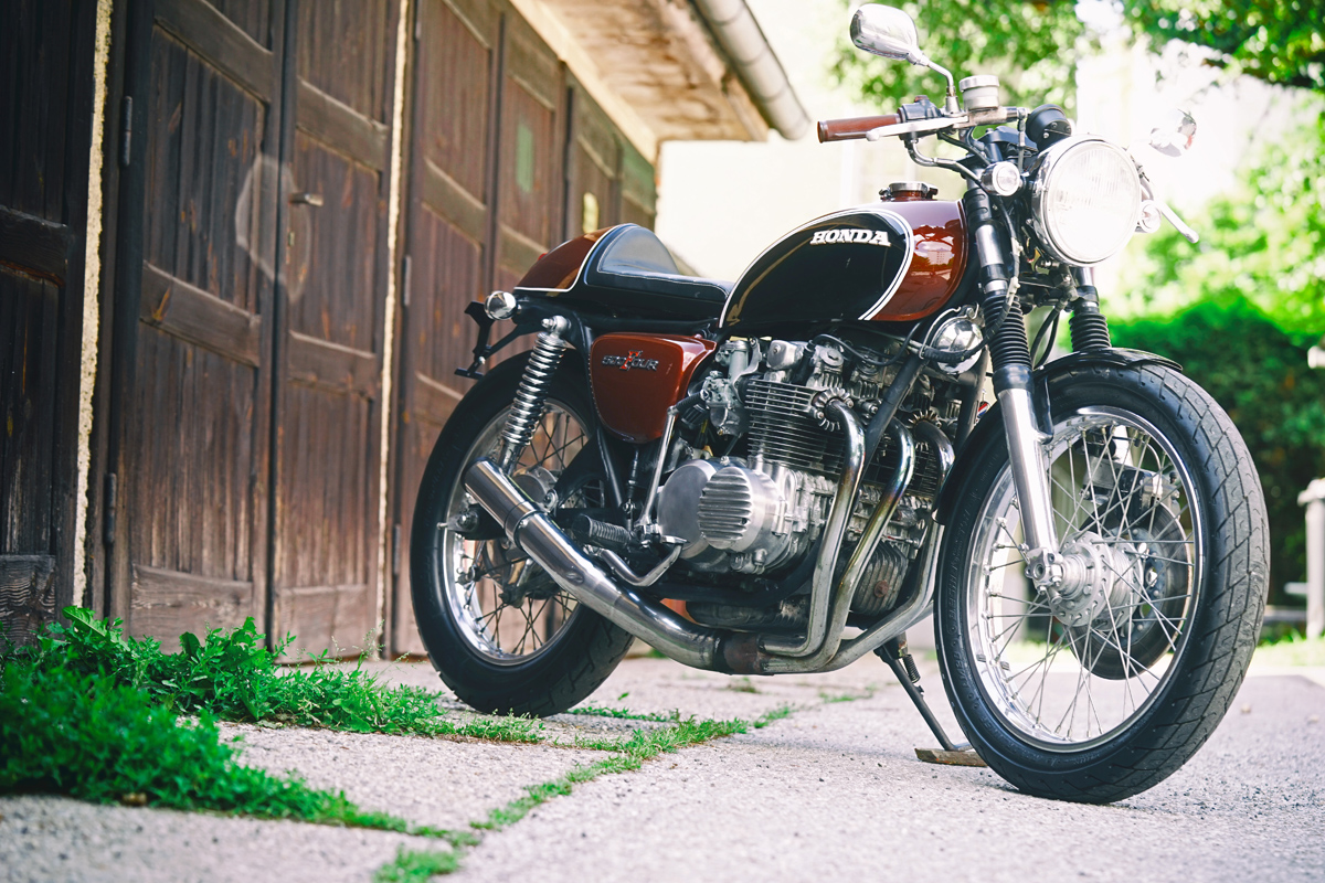 Honda CB500 Cafe Racer by Bold Motorcycles - BikeBound