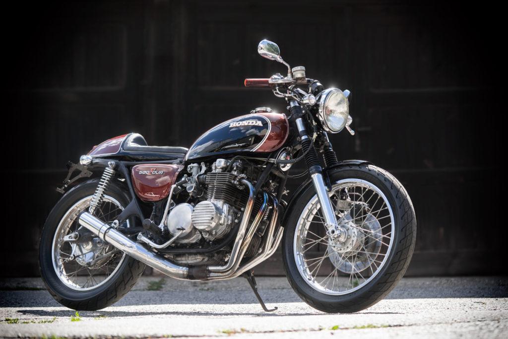 TITAN Sakura   Honda CB 500 (1973) Umbau Sportlicher